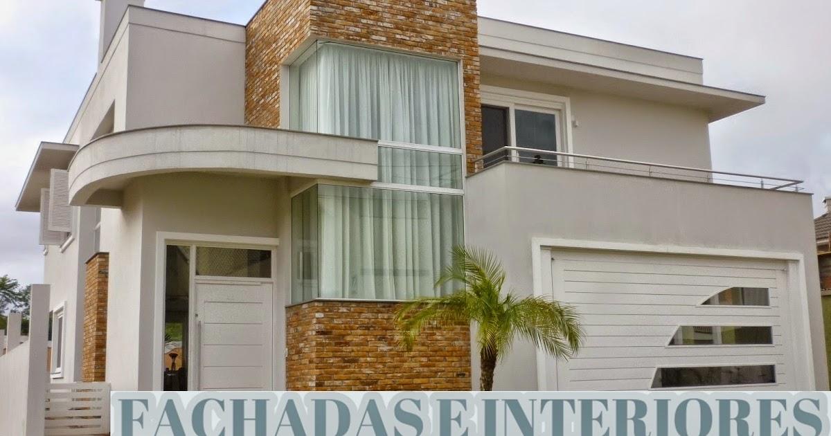 Construindo minha casa clean pedras decorativas for Fachadas de casas e interiores