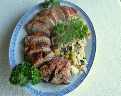Dill Pickle-Brined Pork Tenderloin