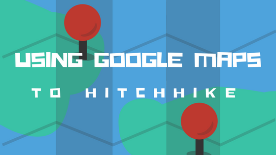 Using Google Maps to hitchhike