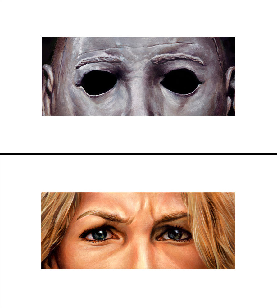 The Geeky Nerfherder Coolart Eyes Without A Face Michael Myers Inkstarhalotattoomachinediagrams On Sale From Friday October 12 At 12am Et Until Sunday 14 12pm His Website