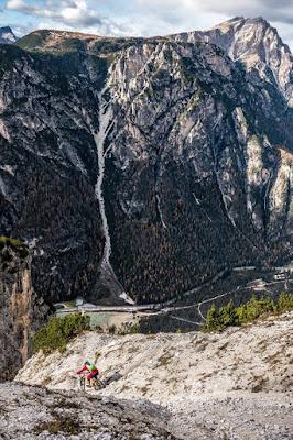 Single Trail Monte Piano Dolomiten Toblach Bozen Mountainbike MTB
