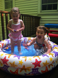 The Heat is On! The Quirky Kids Pool Time ~ TheQuirkyConfessions.com