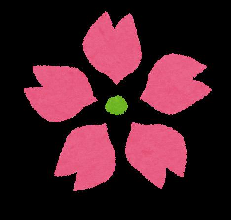 桜の花のイラスト かわいいフリー素材集 いらすとや