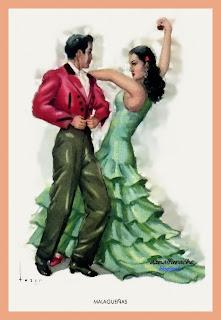 Bailes andaluces - Tuser - Malagueñas