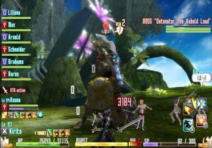 Sword Art Online Re Hollow Fragment Free Download For PC Full Version