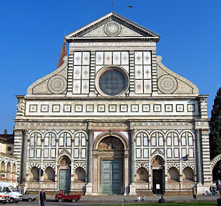 The Basilica of Santa Maria Novella is home to Masaccio's fresco The Trinity