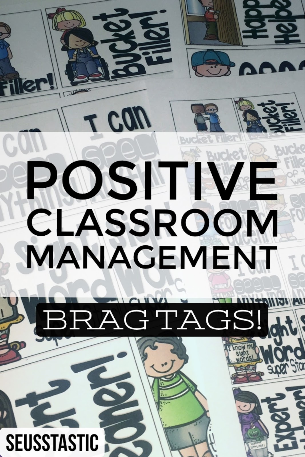 Brag Tags For Positive Classroom Management