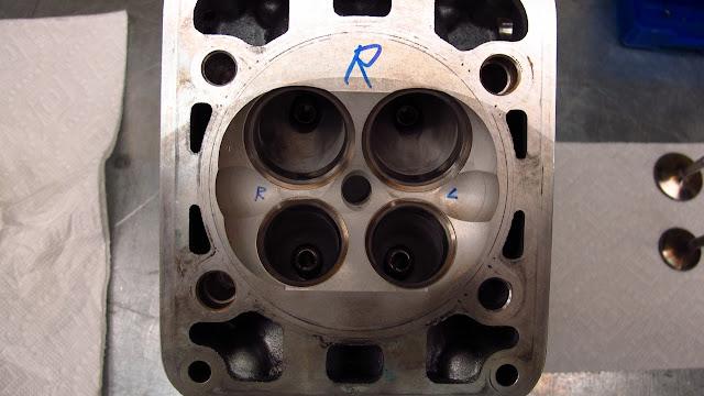 Ducati 996 Cylinder Head