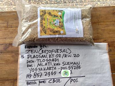 Benih Pesanan   ZEN Sleman, Yogyakarta.  (Sebelum Packing)