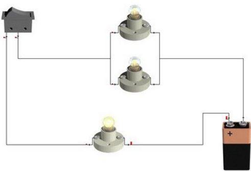 Circuito Electrico Simple Diagrama : Computación circuito eléctrico