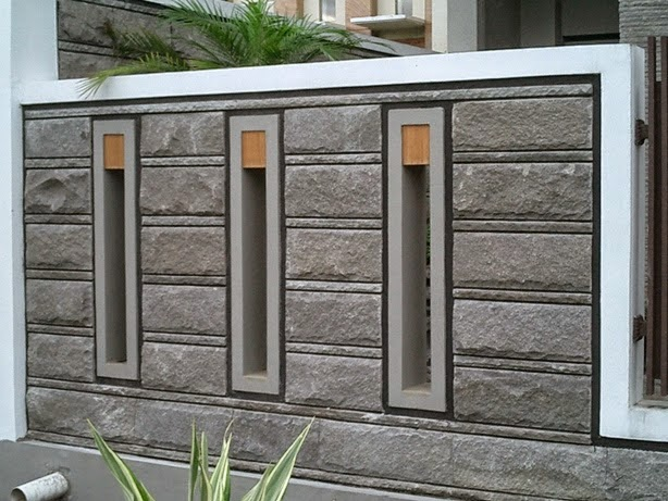 Jenis Batu Alam Terbaik Untuk Dinding Pagar Depan Rumah