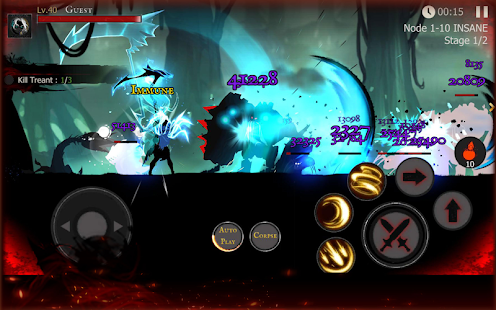 Shadow of Death: Stickman Fighting - Dark Knight Mod Apk Android
