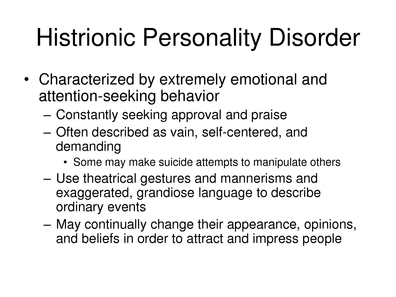 disorder Adult behavior