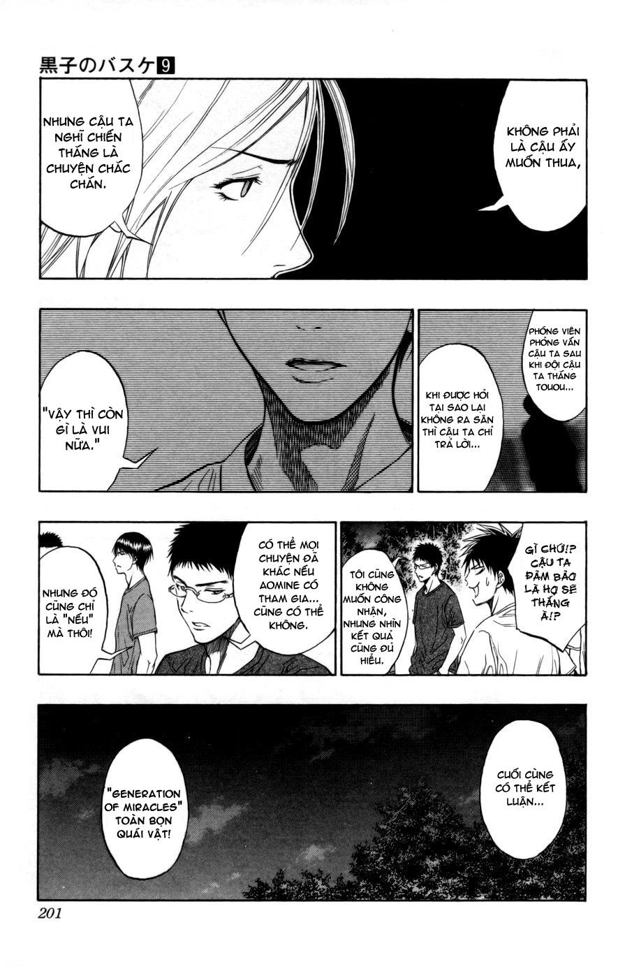 Kuroko No Basket chap 080 trang 15