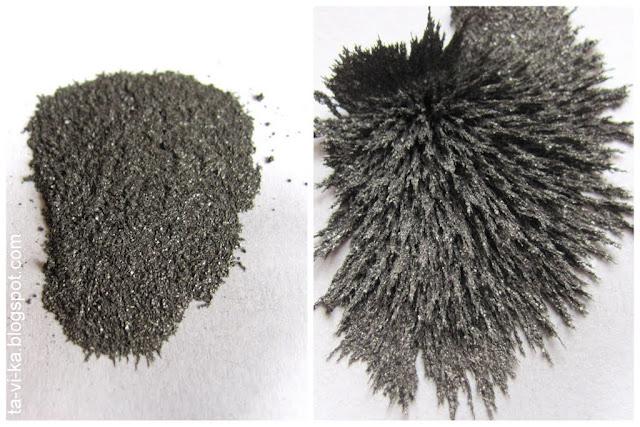 железные опилки в магнитном поле