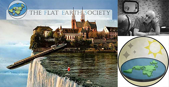 Teoria da Terra plana - Flat Earth Research Society' - IFERS