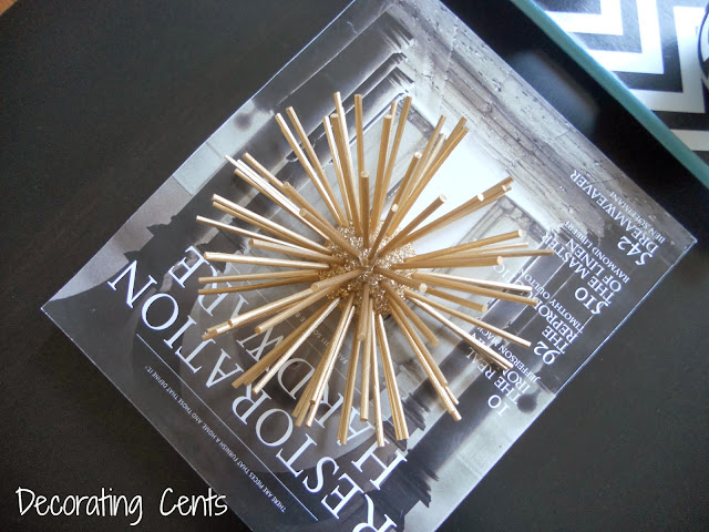 DIY Urchin Decor {Decorating Cents}