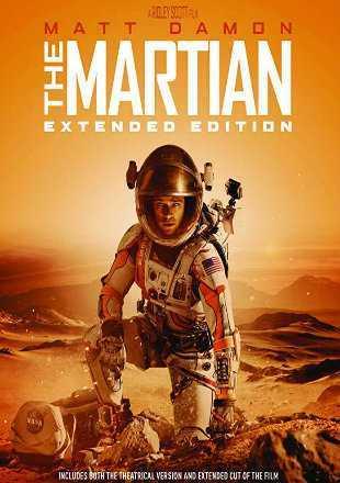 The Martian 2015 BRRip 720p Dual Audio In Hindi English ESub