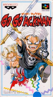 Review - Go Go Ackman - Super Nintendo