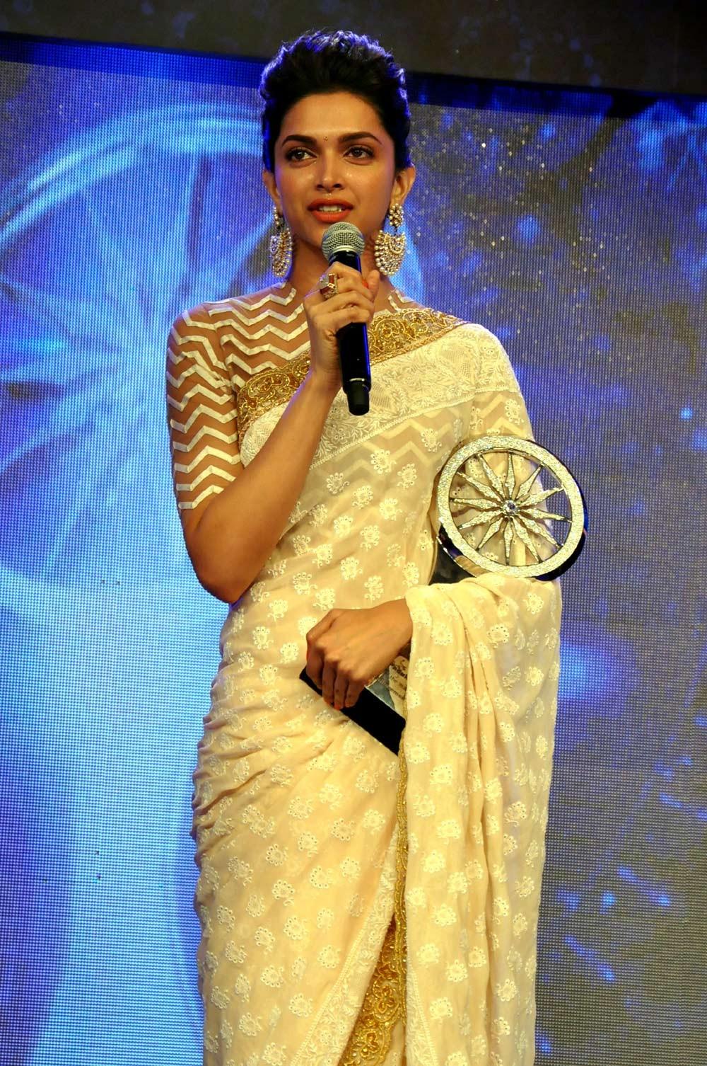 Deepika's Top 10 High Neck Saree Blouse Designs   Indian ...