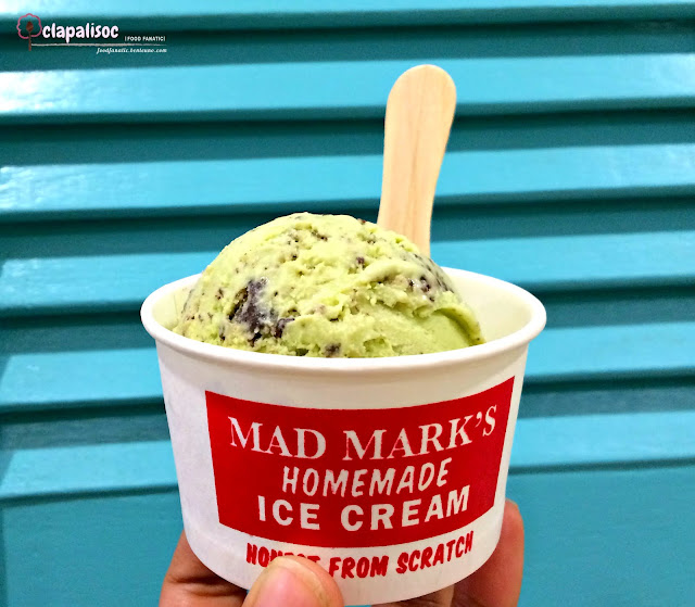 Matcha Ice Cream from Mad Mark's Creamery Kapitolyo