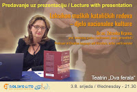 Dr.sc. Zdravka Krpina, predavanje Leksikon muških katoličkih redova Bol slike otok Brač Online