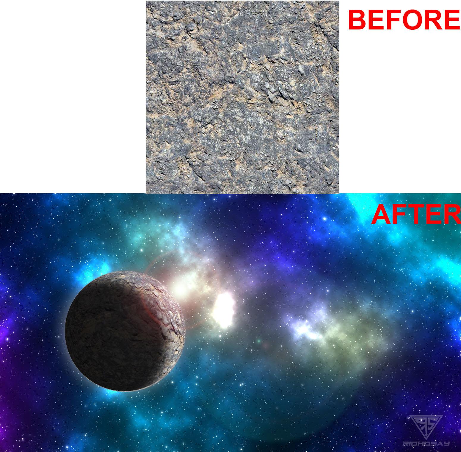 Cara Membuat Nebula Planet Galaxy di Photoshop CS6