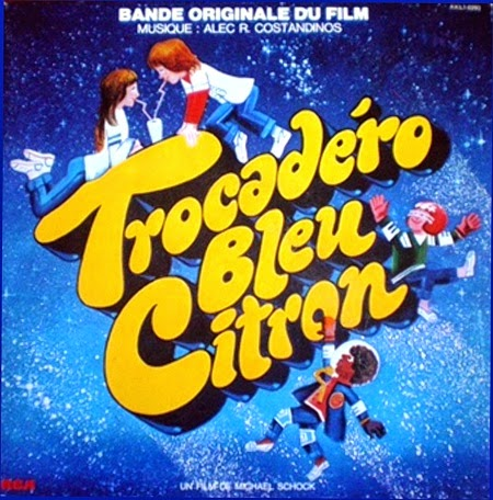 Trocadéro bleu citron / Trocadero Lemon Blue. 1978.