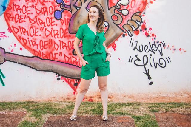 macaquinho verde, macaquinho verão, look verão, look carnaval, blog camila andrade, blog de moda em ribeirão preto, fashion blogger em ribeirão preto, blogueira de moda em ribeirão preto, o melhor blog de moda, blog de dicas de moda, blog do interior paulista