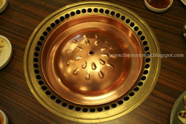 Copper top smokeless roaster