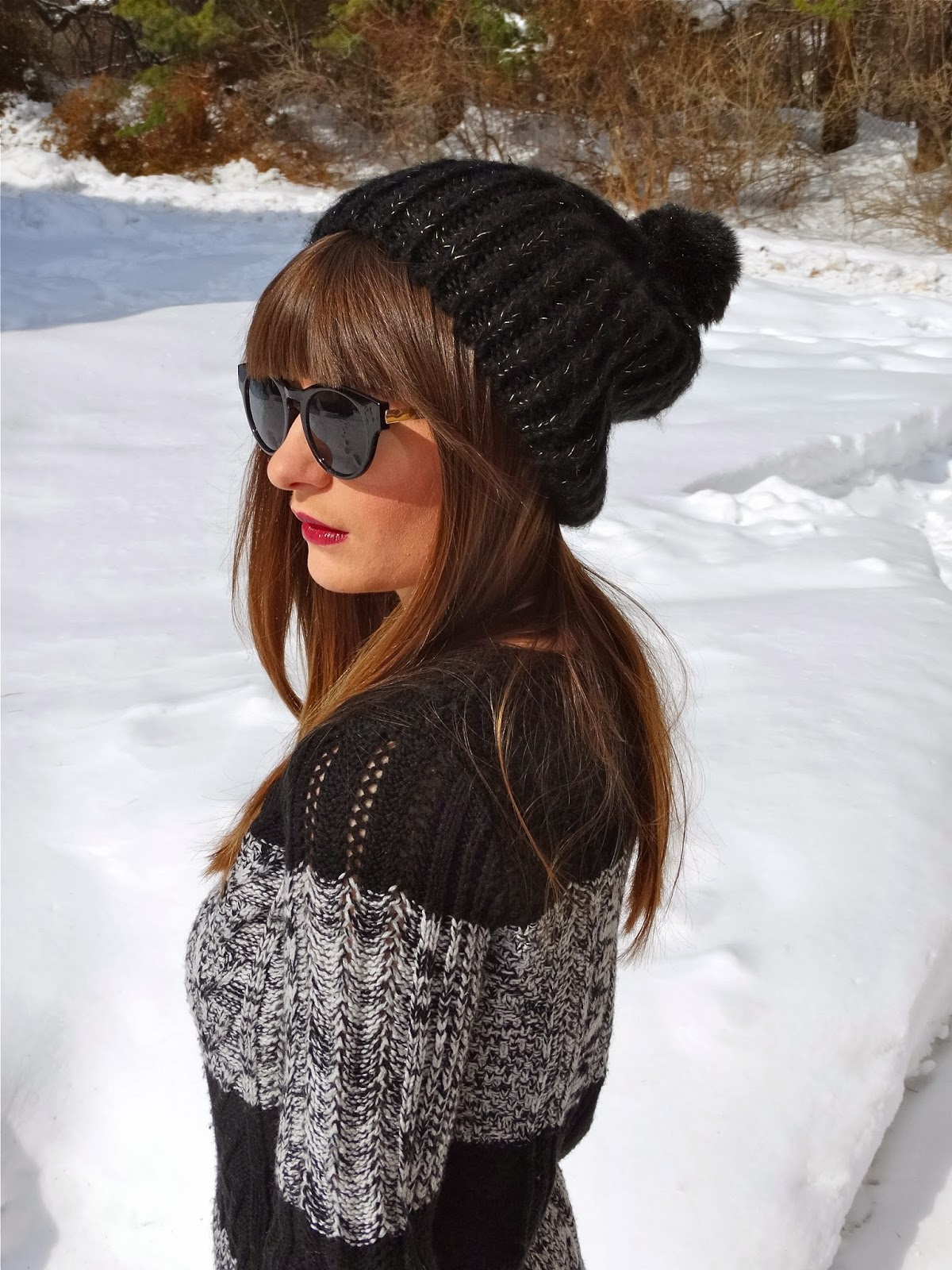 Knit beanies for winter | hipster style | www.houseofjeffers.com