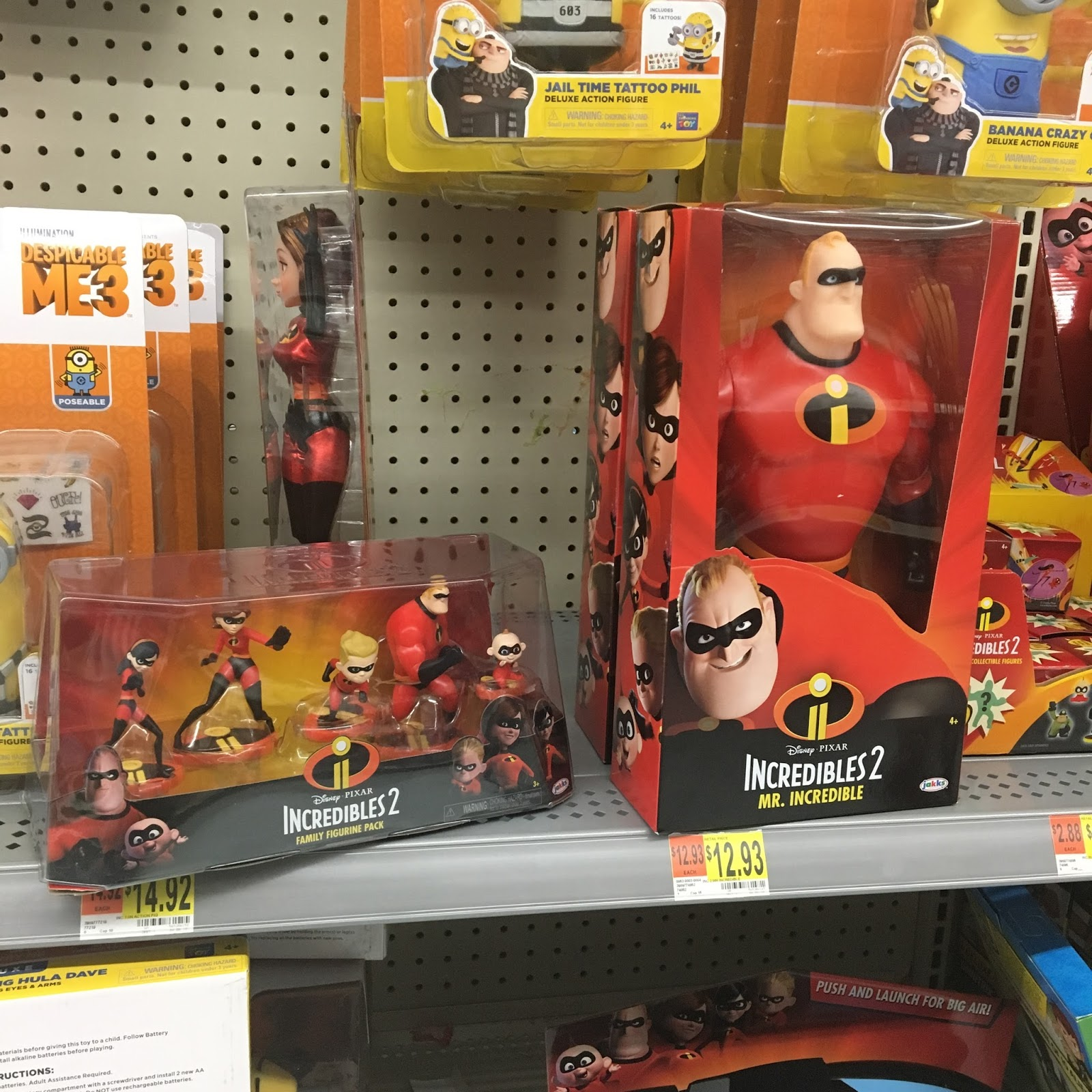 Dan The Pixar Fan Jakks Pacific Incredibles 2 Toys