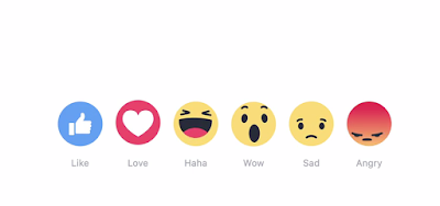 Facebook rilis tombol dislike, reaksi facebook