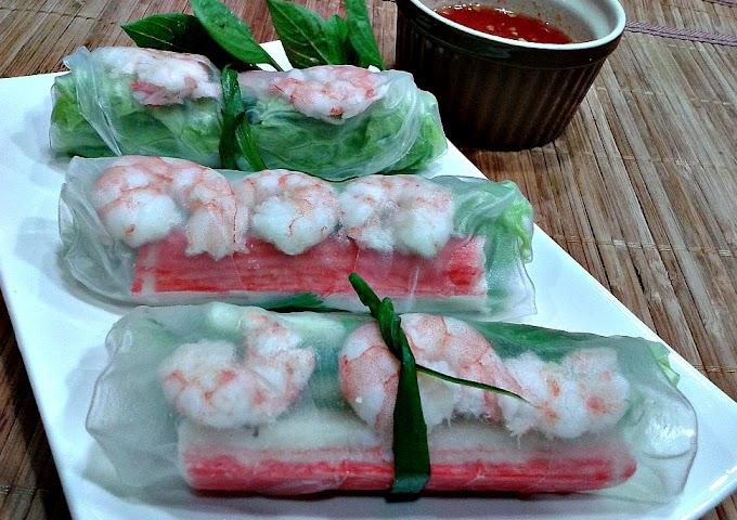 Resepi Vietnamese Spring Roll