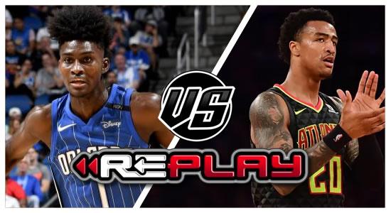 Video Playlist: Orlando Magic vs Atlanta Hawks Game Replay 2018-2019 NBA Season
