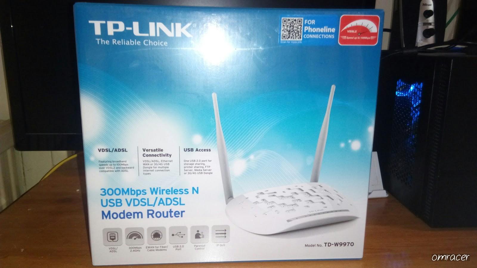 omracer Reviews: TP Link TD-W9970