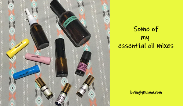 essential oils - benefits of essential oils - young living essential oils - uses of essential oils - bacolod blogger - bacolod mommy blogger - DIY oil mixes