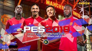 PES 2018 Mobile v2.2.0 Mod Manchester United Apk