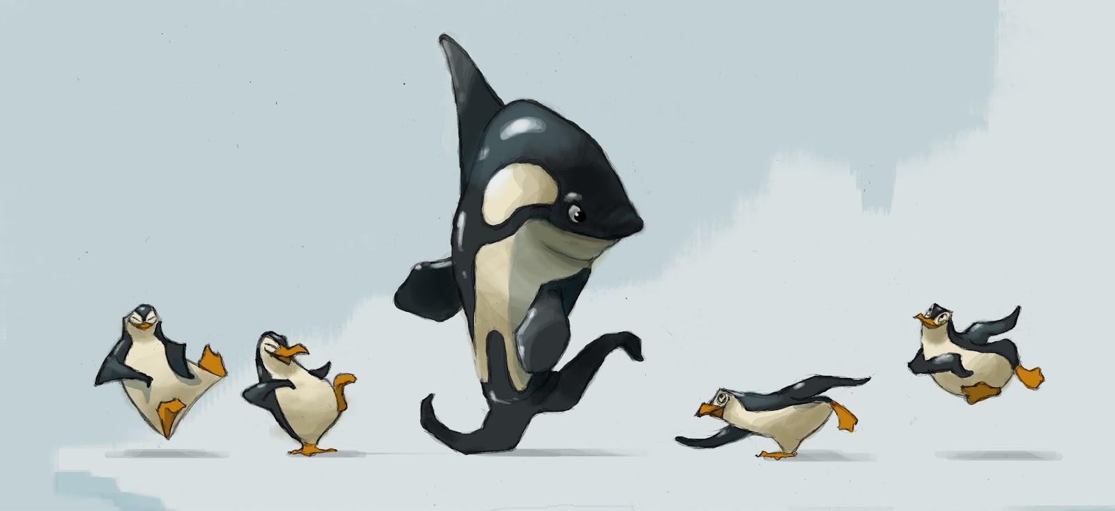 Танец пингвина гифка