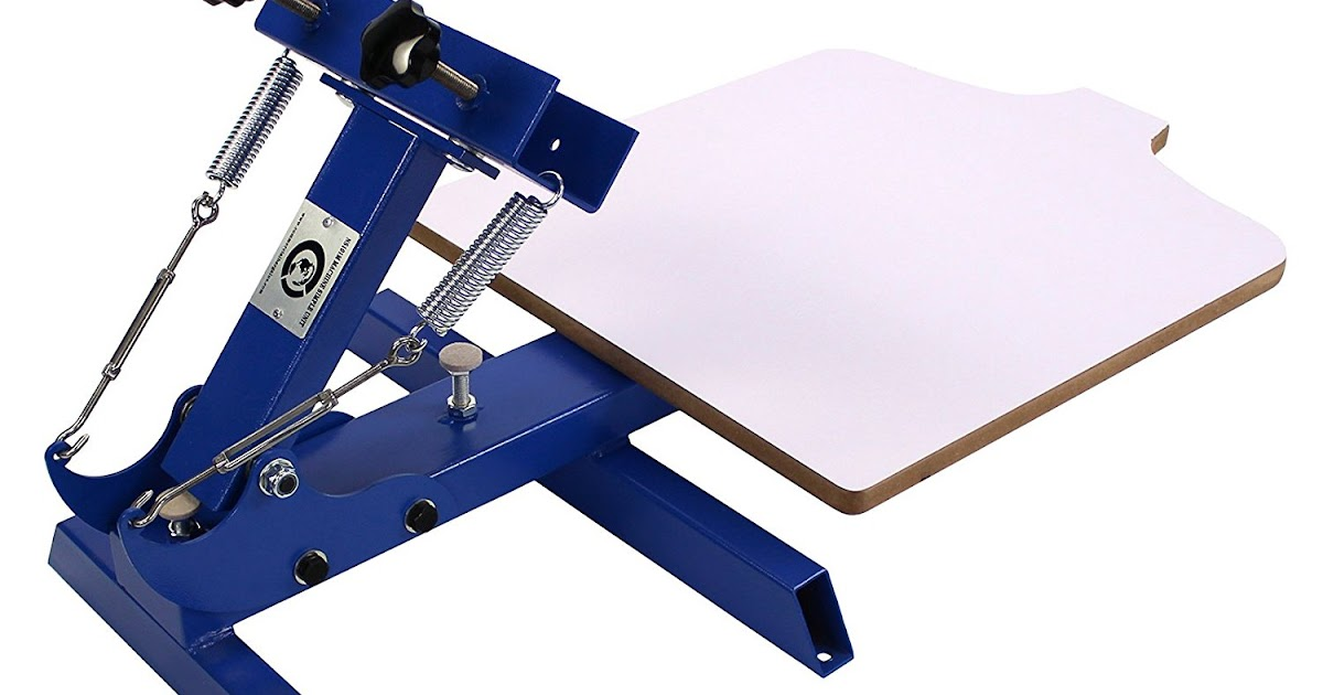 0ffe4b2e Screen Printing Machine Reviews and Buying Guides: Simple Single 1 Color 1  Station T-shirt Silk Screen Printing Machine NS101