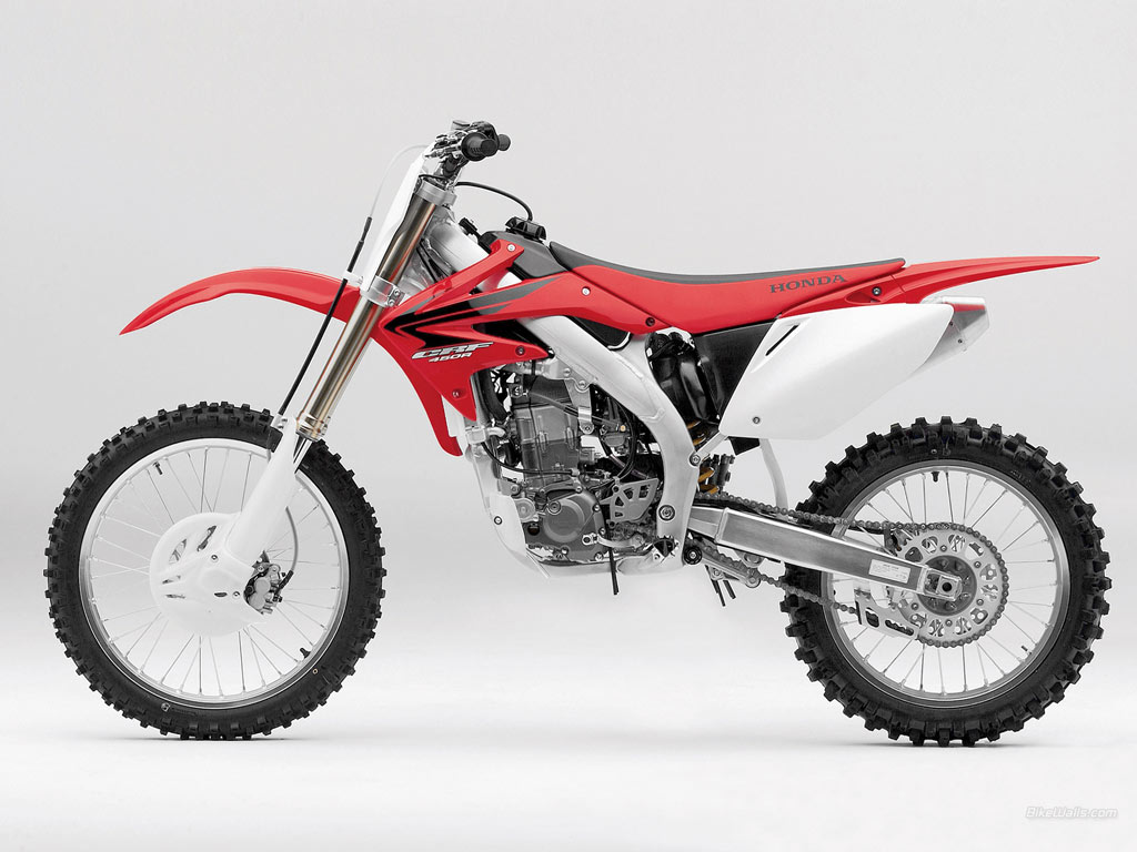 Honda Crf 80 >> crf 450: 2010 Honda CRF450R Suspension, Brakes and Tires