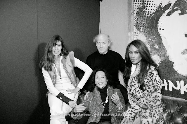 Carol Alt, China Machado, Beverly Johnson, Timothy Greenfield Sanders  ©George Leon/filmcastlive