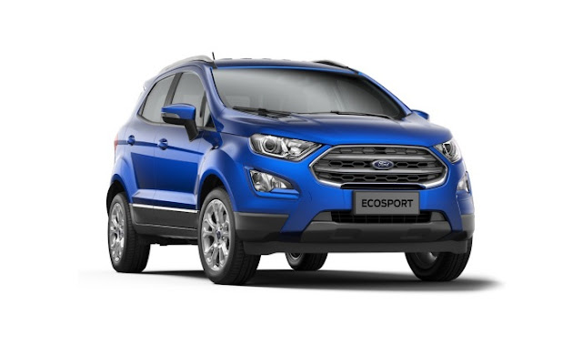 2017 Ford EcoSport new look