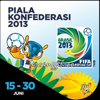 8 Negara Piala Konfederasi 2013