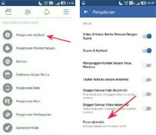 Menonaktifkan Pemutaran Video Otomatis Facebook