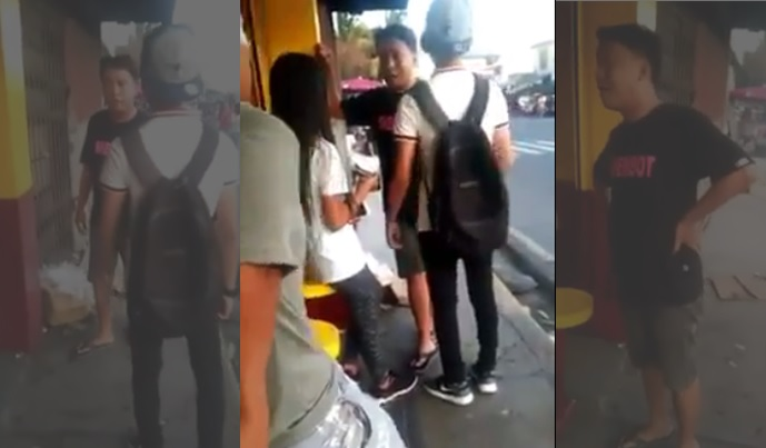 VIDEO: Furious gay attacks alleged lover, girlfriend