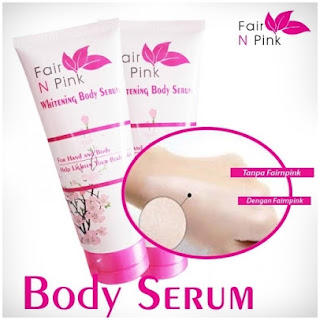 Fair n Pink Body Whitening Serum Asli