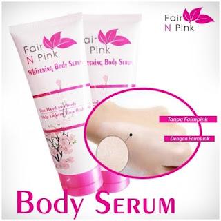 Fair n Pink Body Whitening Serum Asli