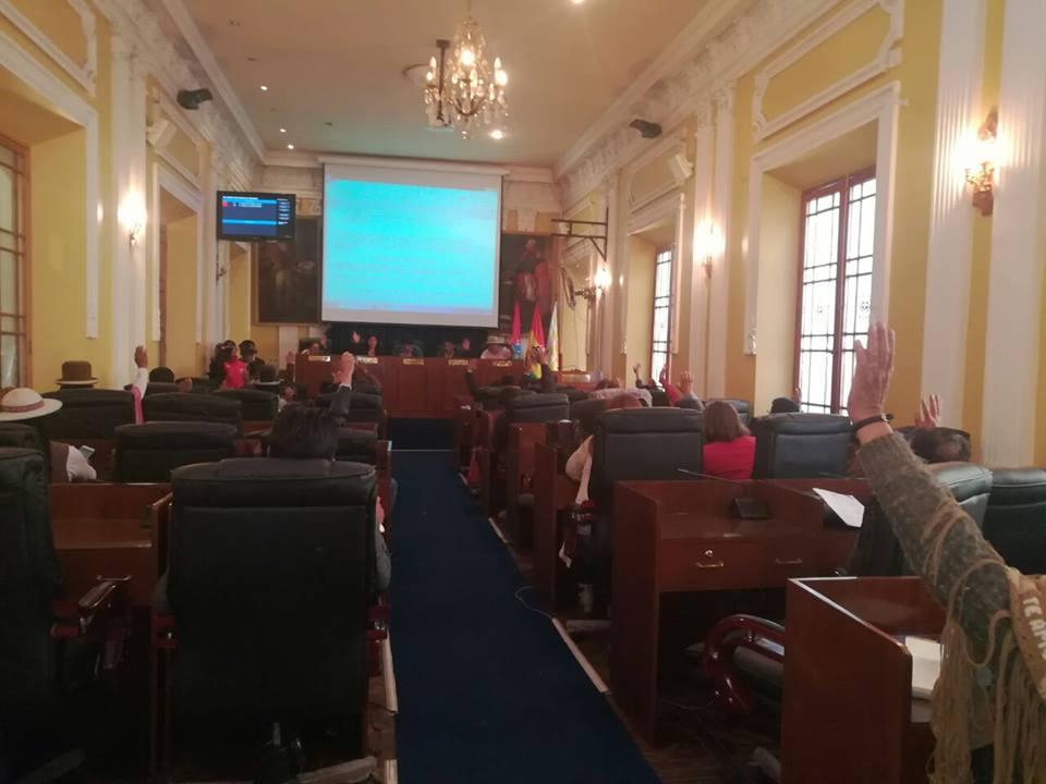 Gobernación califica como voto consigna el rechazo a importantes proyectos