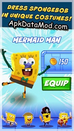 SpongeBob Sponge on the Run customize customes